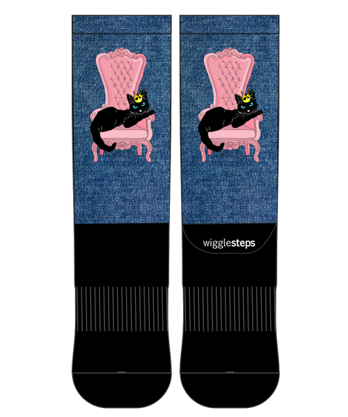 Queen Cat Performance Sock