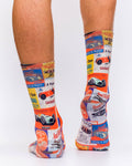 Classic Car Race Men Sock