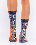 Animal Paisley III  Lady Sock