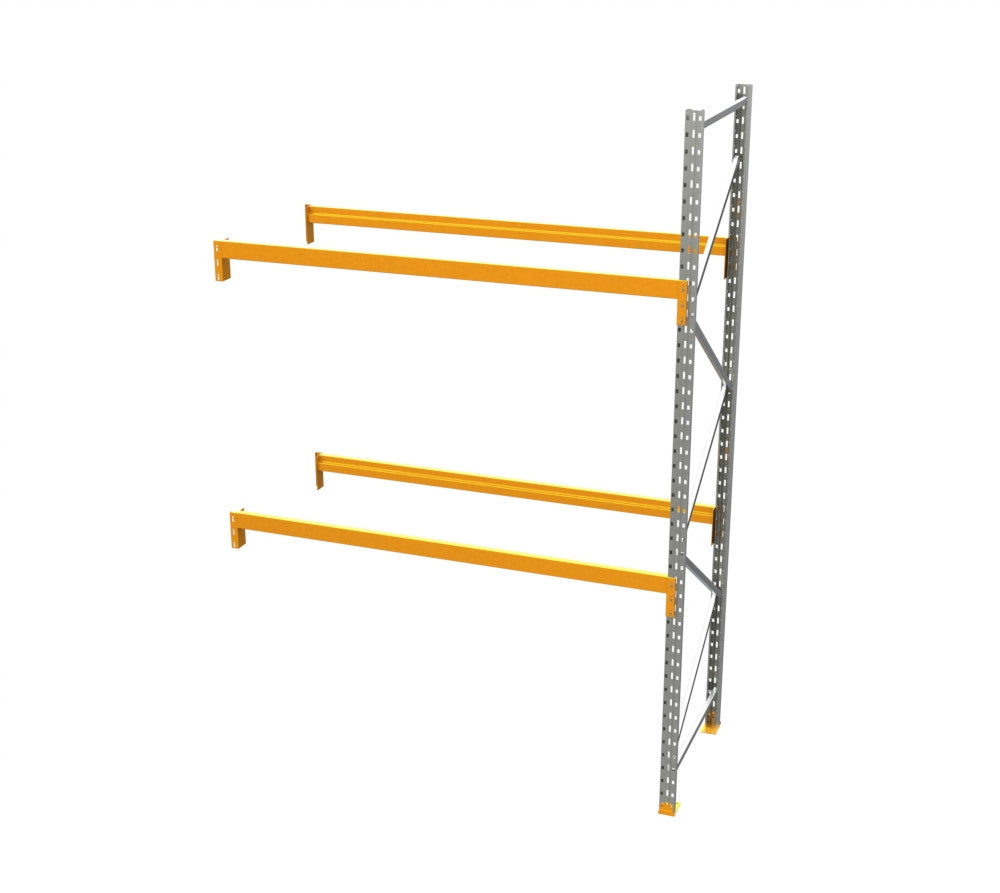 Racking - Add on Bay - 12' H x 8' W - with 2 Beam Levels