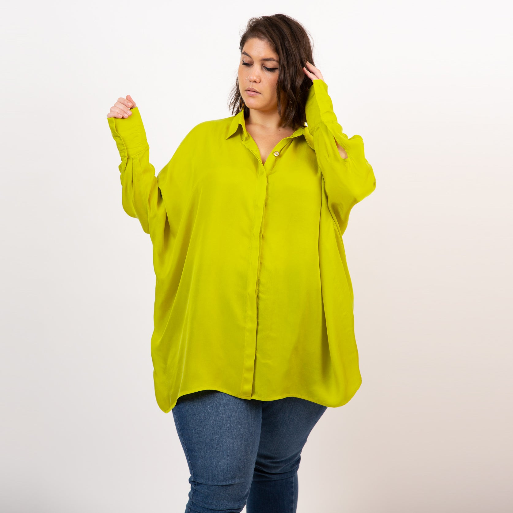 Oversized plus size shirt Alice Alexander Catherine shirt