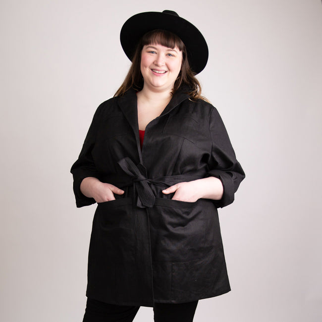The Bessie Adventure Jacket in Black