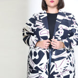 Bessie Jacket in Hands Print