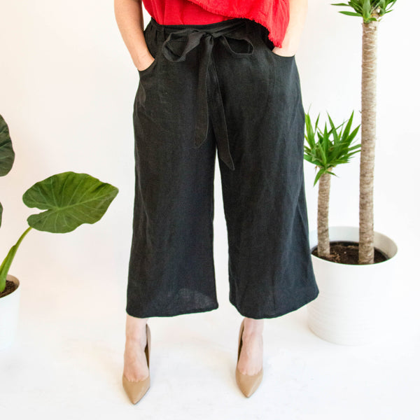 The Elsa Culotte in Linen