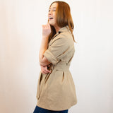 The Bessie Adventure Jacket in Sand