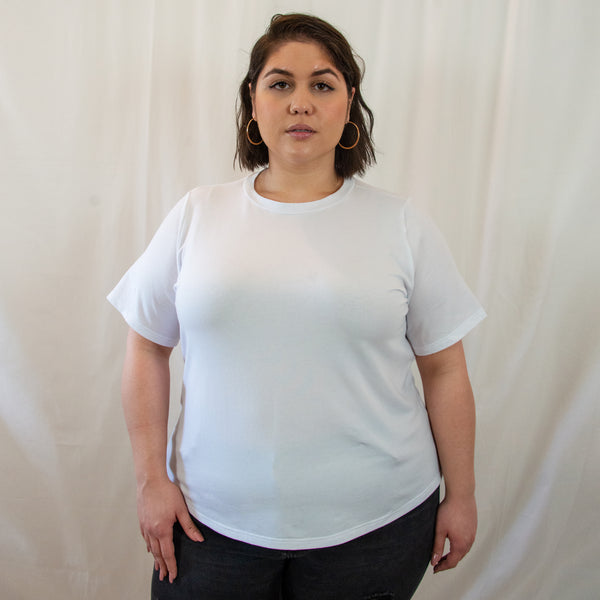 plus size organic cotton t-shirt