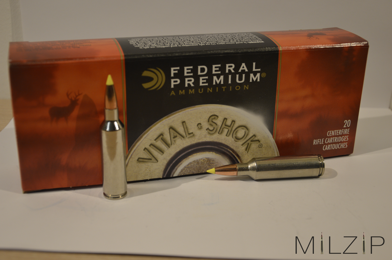 Federal .270 WSM 8,4g/130grs Nosler BT