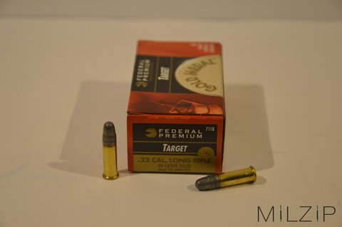 Federal .22lr 2,6g/40grs. Target Subsonic