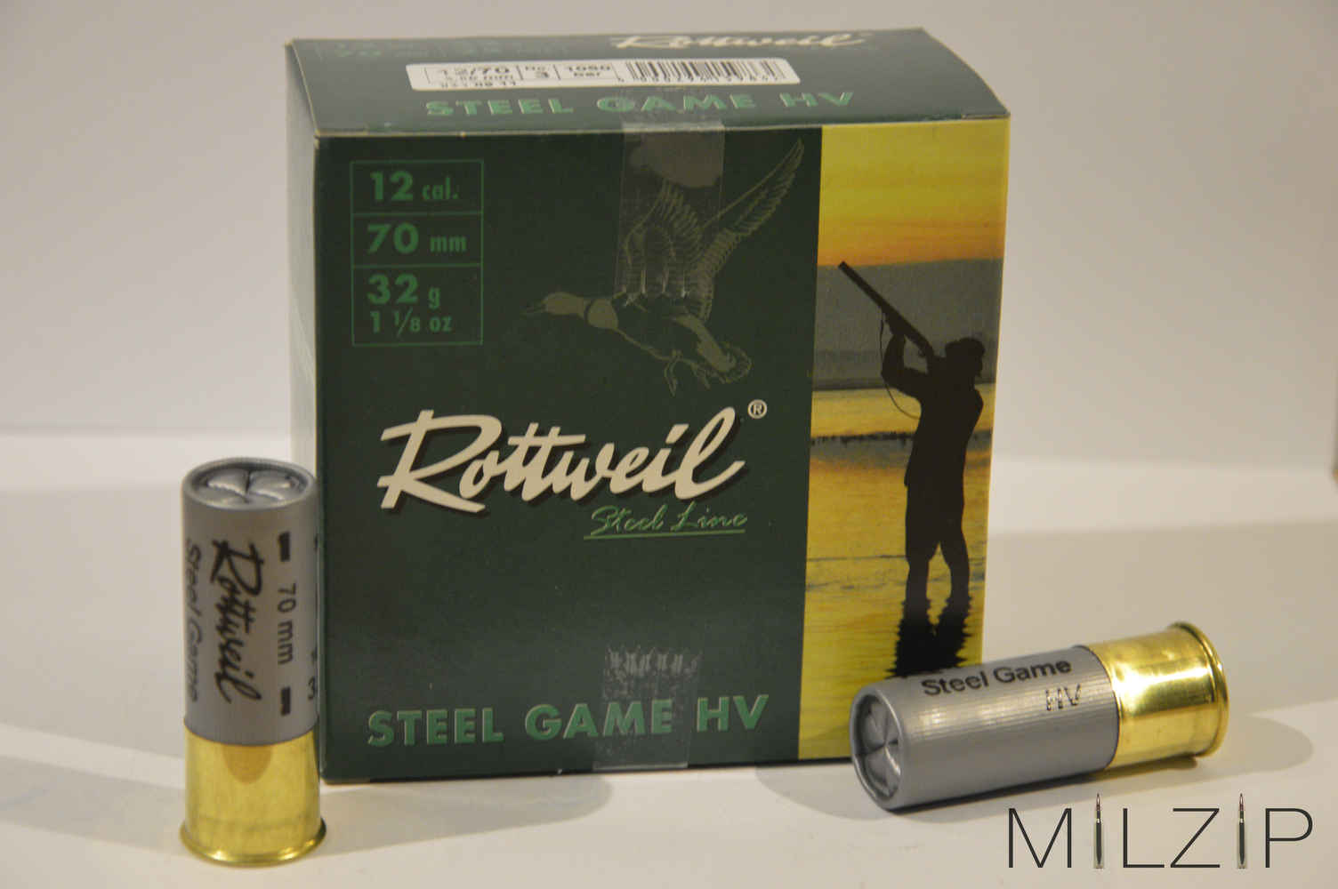 Rottweil Steel Game HV 12/70 3,5mm 32g