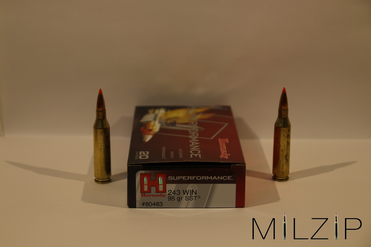 Hornady  243 Win 6,2g/95 grs SST Superformance