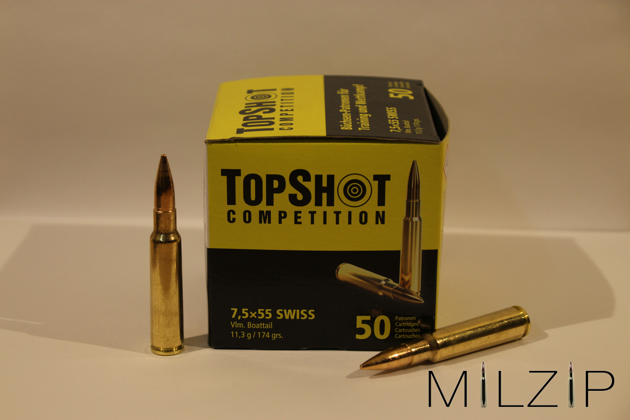 TopShot Competition 7,5 x 55 Swiss Vlm