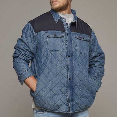 ALLSIZE REPLIKA JEANS CPH Jacket Tall Jacket 0597 Blue Used Wash