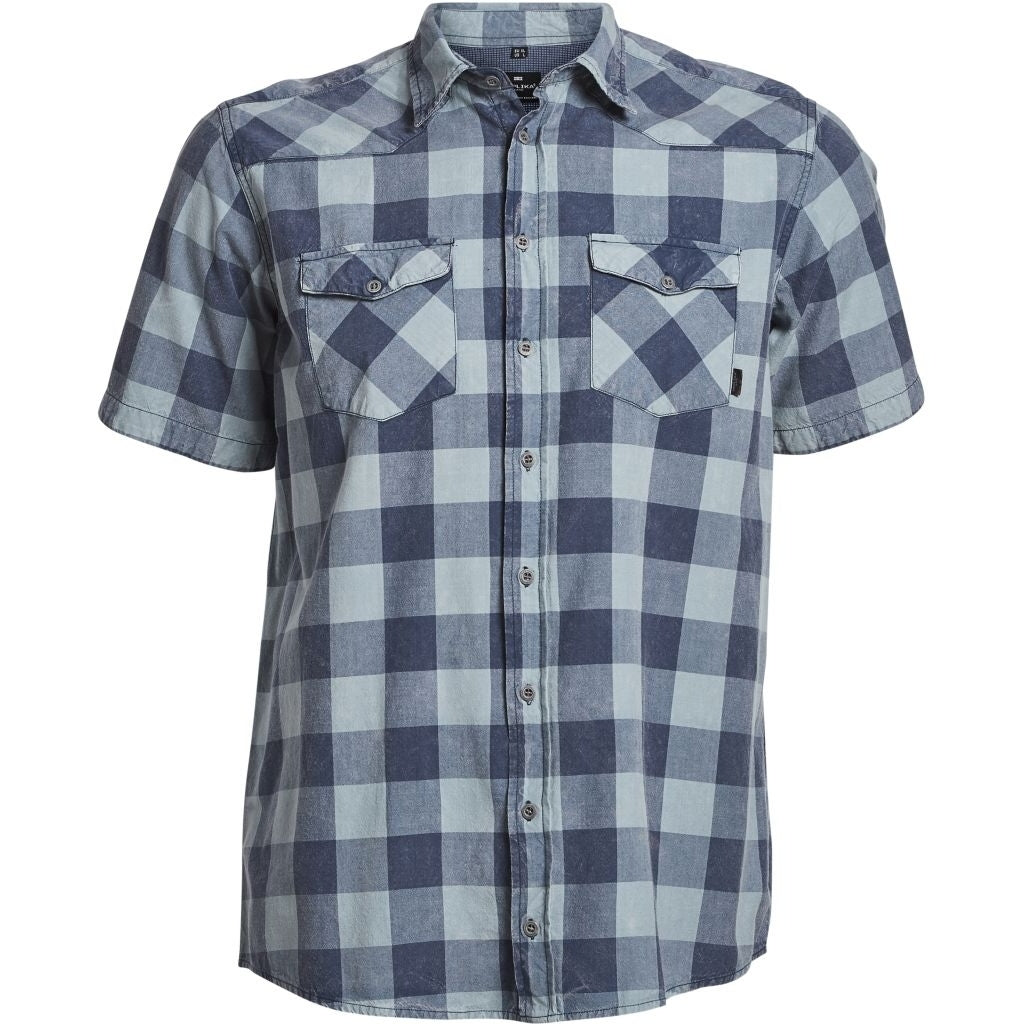 ALLSIZE REPLIKA JEANS Checked shirt S/S S3 Shirt SS 0920 Checked