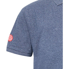 North 56°4 / Replika Jeans (Big & Tall) REPLIKA JEANS Polo w/chest application T-shirt 0580 Navy Blue