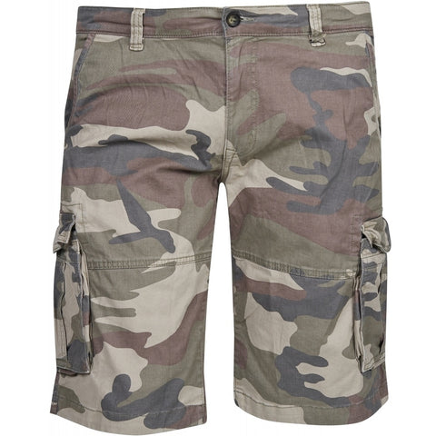 North 56°4 / Replika Jeans (Big & Tall) REPLIKA JEANS Camouflage cargo shorts Shorts 0930 Printed