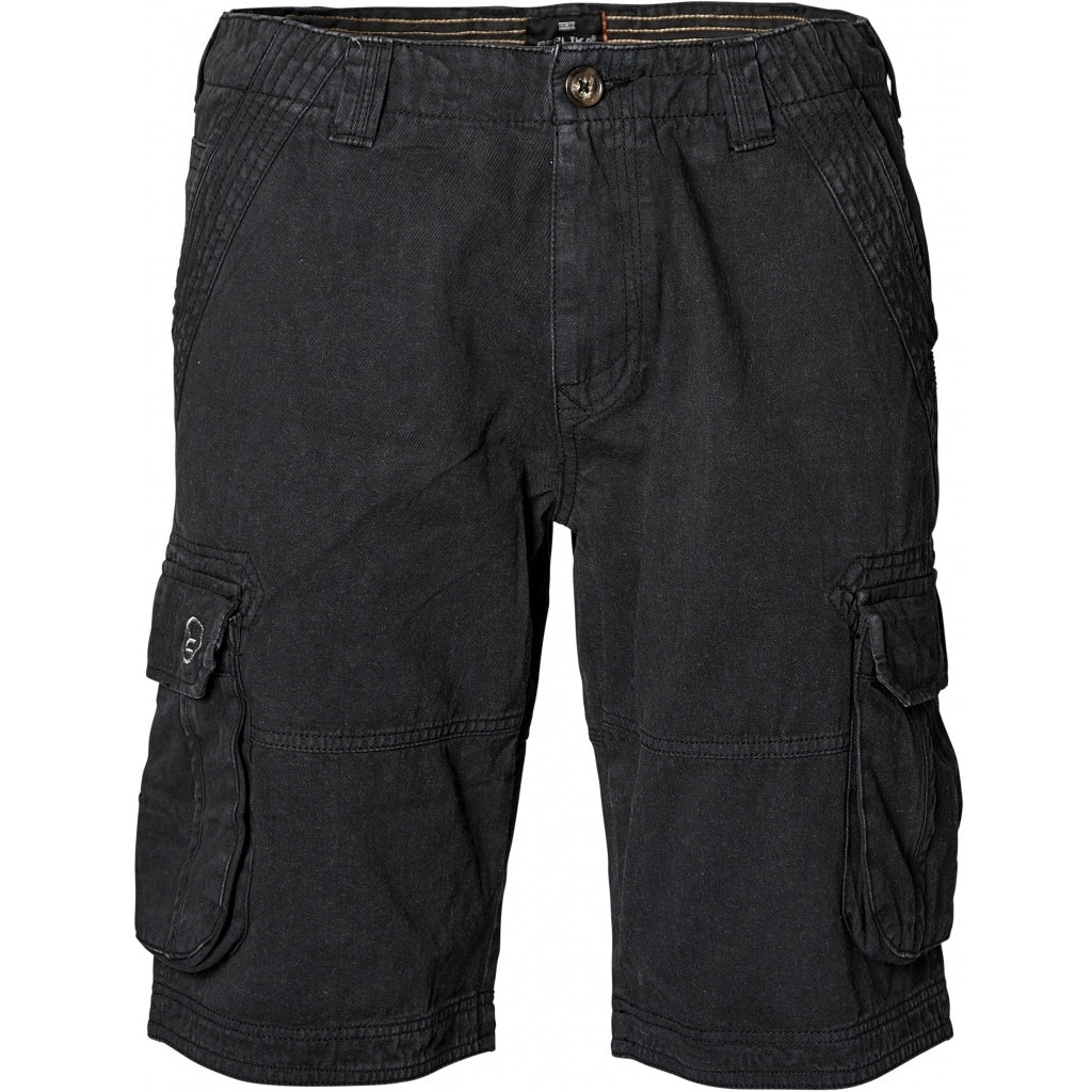 North 56°4 / Replika Jeans (Big & Tall) REPLIKA JEANS Cargo shorts Shorts 0099 Black