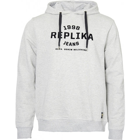 North 56°4 / Replika Jeans (Big & Tall) REPLIKA JEANS Hooded sweat Sweatshirt 0050 Grey Melange