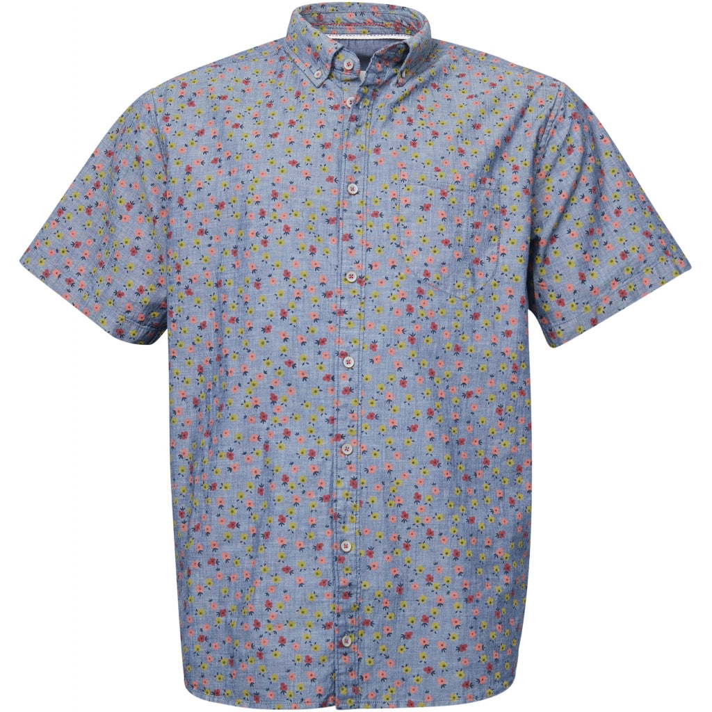 North 56°4 / Replika Jeans (Big & Tall) North 56°4 Allover printed shirt Shirt SS 0930 Printed