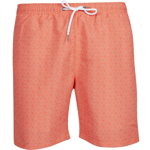 North 56°4 / Replika Jeans (Big & Tall) North 56°4 Allover printed swimshorts Shorts 0200 Orange