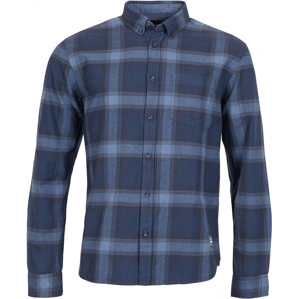 North 56°4 / Replika Jeans (Big & Tall) North 56°4 Checked shirt Shirt LS 0920 Checked