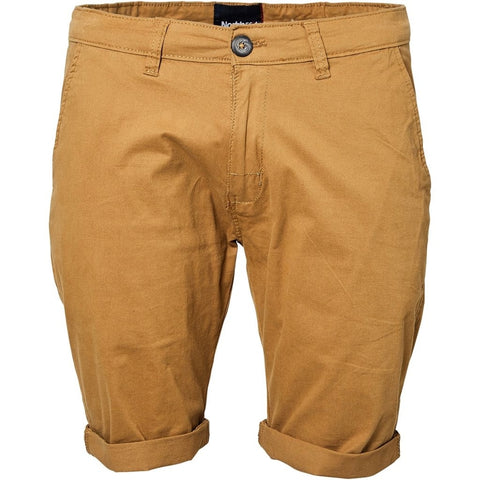North 56°4 / Replika Jeans (Regular) North 56°4 Chino shorts Shorts 0760 Brass