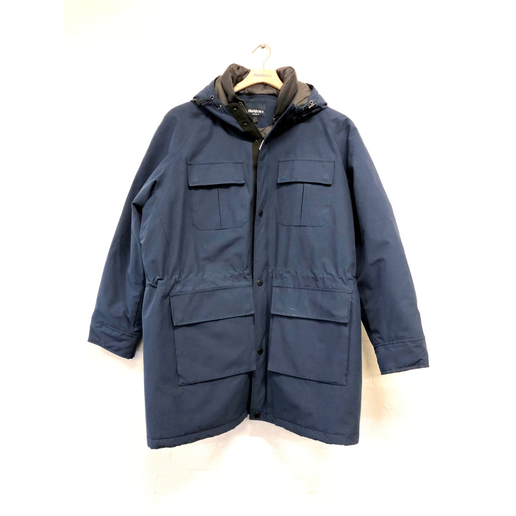 North 56°4 / Replika Jeans (Big & Tall) North 56°4 Parka Jacket 0580 Navy Blue