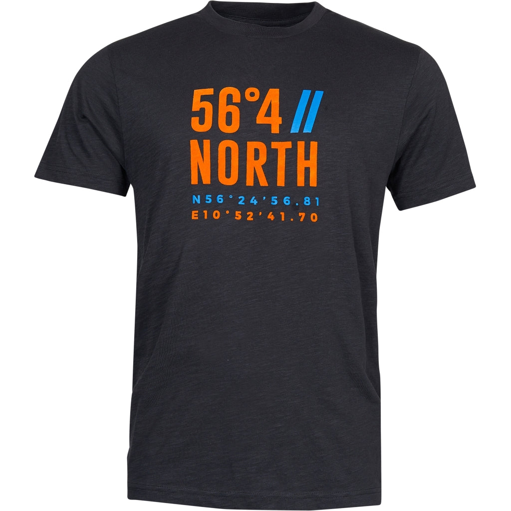 North 56°4 / Replika Jeans (Big & Tall) North 56°4 Printed t-shirt T-shirt 0099 Black