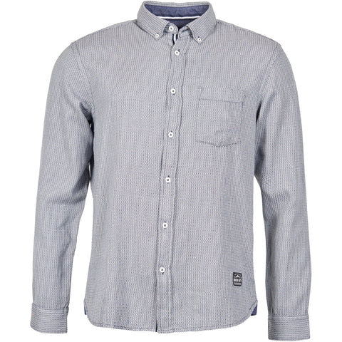 North 56°4 / Replika Jeans (Big & Tall) North 56°4 Small checked shirt Shirt LS 0070 Stone