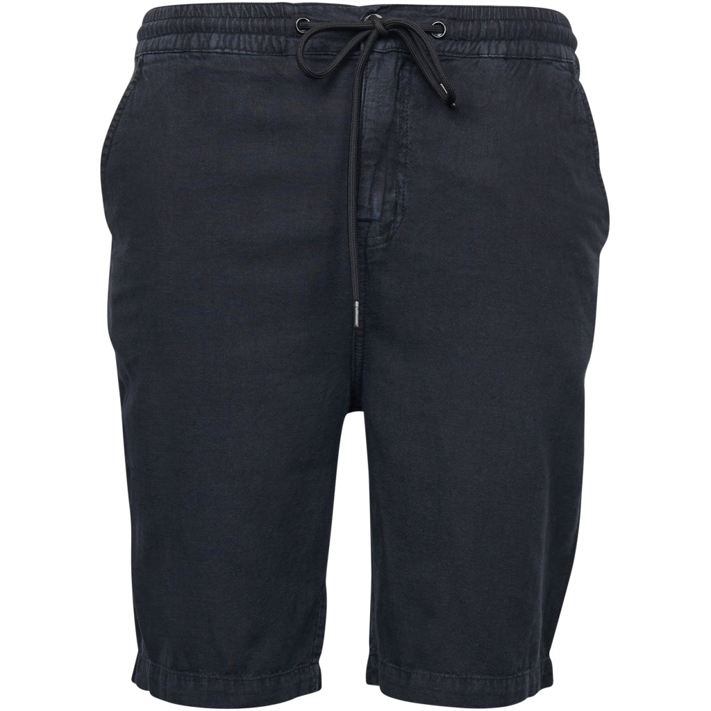 North 56°4 / Replika Jeans (Big & Tall) North 56°4 Light shorts w/ elastic waist Shorts 0099 Black