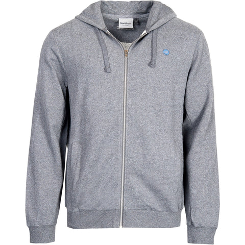 North 56°4 / Replika Jeans (Big & Tall) North 56°4 Sweatshirt w/hood GOTS Sweatshirt 0050 Grey Melange