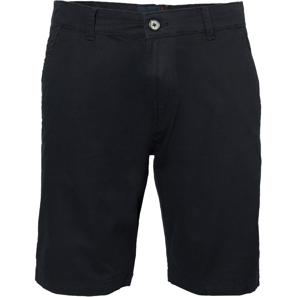 North 56°4 / Replika Jeans (Big & Tall) North 56°4 Chino shorts w/stretch Shorts 0099 Black