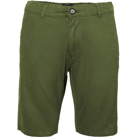 North 56°4 / Replika Jeans (Big & Tall) North 56°4 Chino shorts w/stretch Shorts 0660 Olive Green