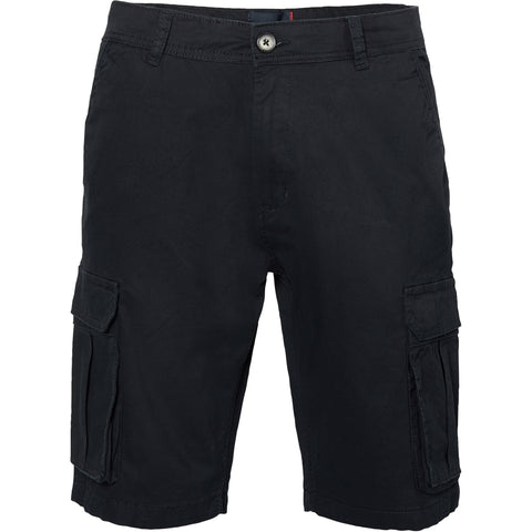 North 56°4 / Replika Jeans (Regular) North 56°4 Cargo shorts w/stretch Shorts 0099 Black