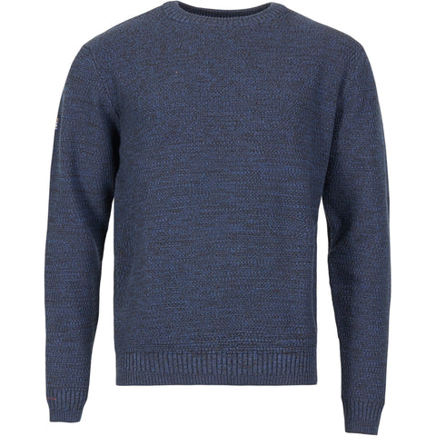 North 56°4 / Replika Jeans (Big & Tall) North 56°4 Crew neck knit Knit 0580 Navy Blue