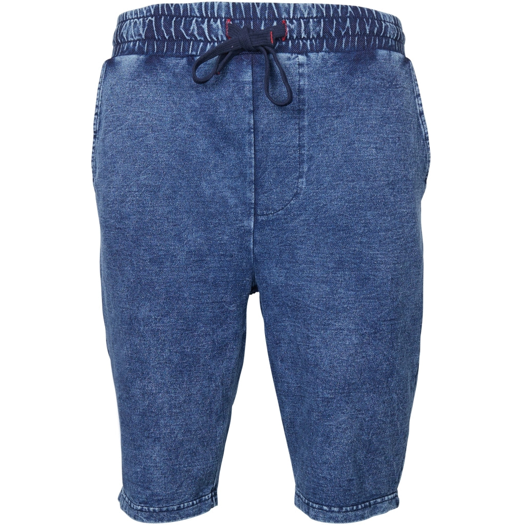 North 56°4 / Replika Jeans (Big & Tall) North 56°4 Indigo sweat shorts Shorts 0585 Indigo Blue