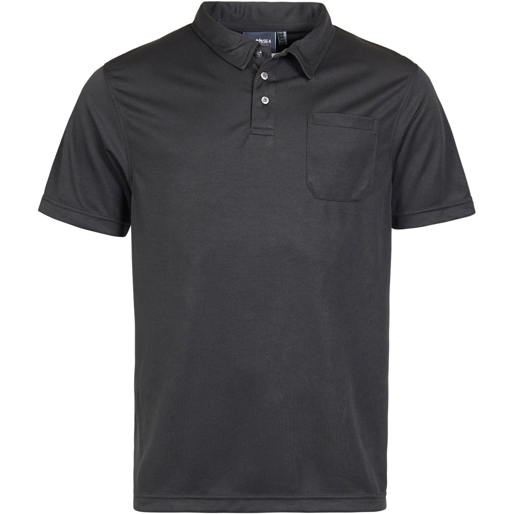 North 56°4 / Replika Jeans (Big & Tall) North 56°4 Polo cooleffect T-shirt 0099 Black