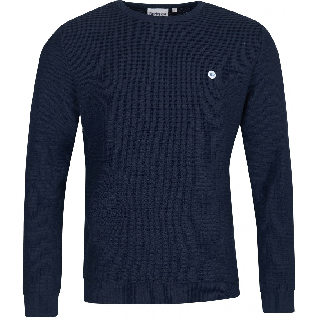 North 56°4 / Replika Jeans (Regular) North 56°4 Sustainable knit Knit 0580 Navy Blue