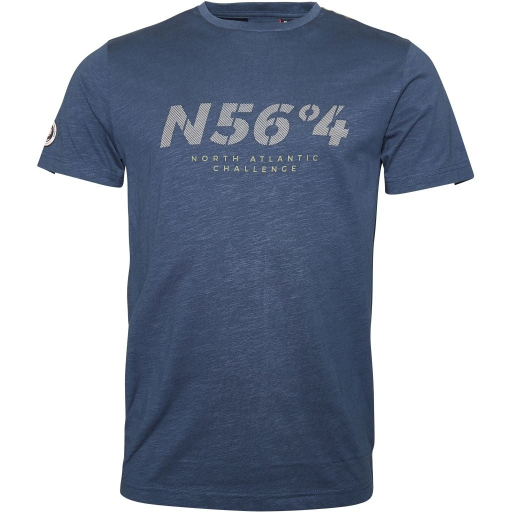 North 56°4 / Replika Jeans (Regular) North 56°4 T-shirt T-shirt 0587 Storm