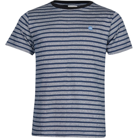 North 56°4 / Replika Jeans (Big & Tall) North 56°4 T-shirt GOTS striped T-shirt 0910 Striped