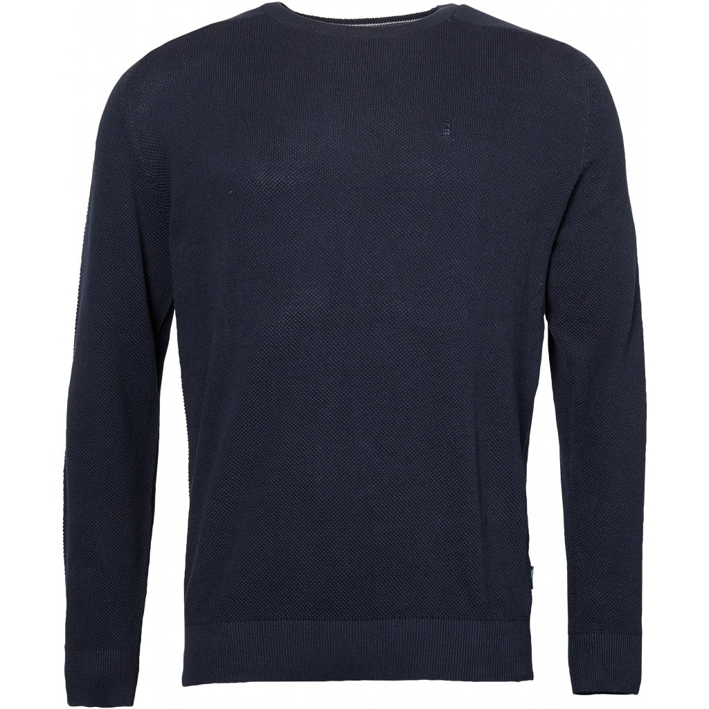 North 56°4 / Replika Jeans (Big & Tall) North 56°4 Unicolor knit Knit 0580 Navy Blue