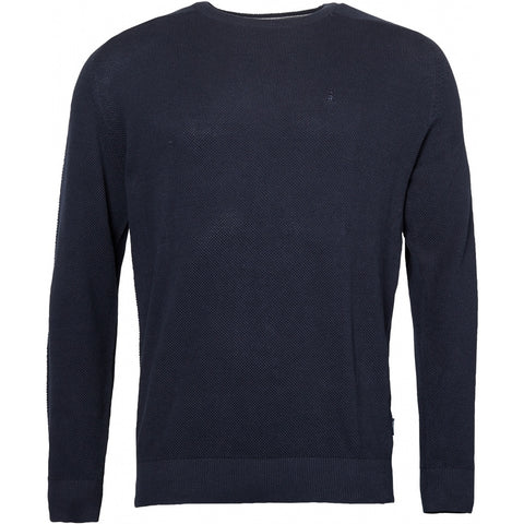 North 56°4 / Replika Jeans (Regular) North 56°4 Unicolor knit Knit 0580 Navy Blue