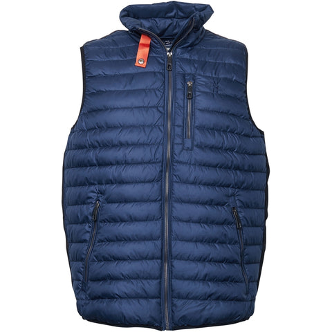 North 56°4 / Replika Jeans (Big & Tall) North 56°4 Vest Vest 0580 Navy Blue