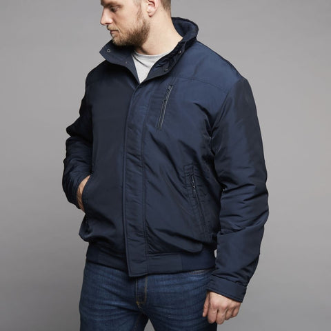 ALLSIZE North 56°4 classics short jacket Jacket 0580 Navy Blue