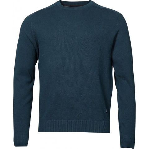 North 56°4 / Replika Jeans (Regular) North 56°4 crew neck knit Knit 0580 Navy Blue