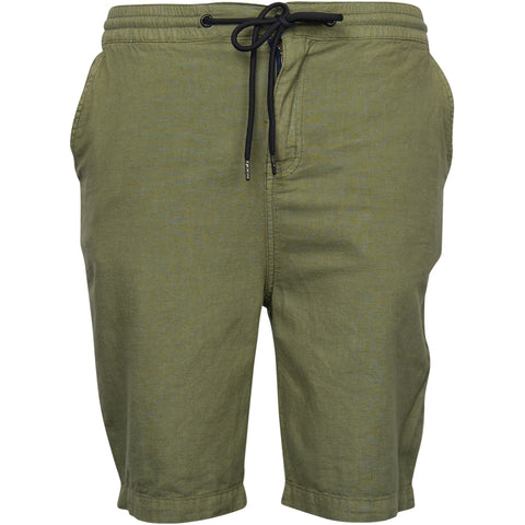 North 56°4 / Replika Jeans (Big & Tall) North 56°4 Light shorts w/ elastic waist Shorts 0660 Olive Green