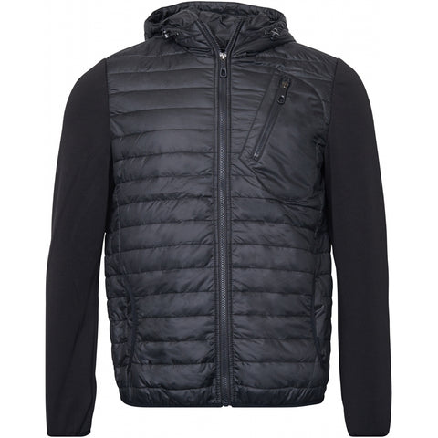 North 56°4 / Replika Jeans (Big & Tall) North 56°4 Puffer jacket w/hood Jacket 0099 Black