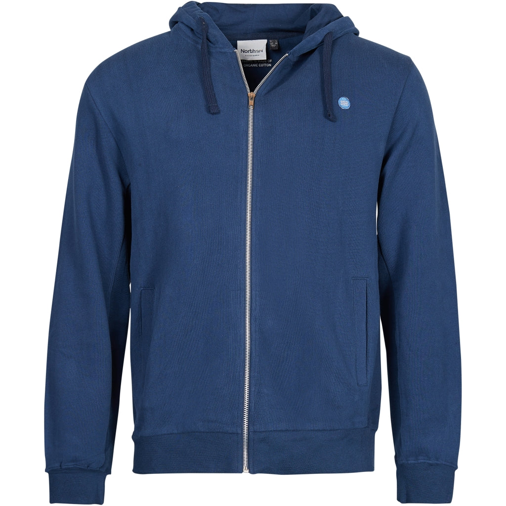 North 56°4 / Replika Jeans (Big & Tall) North 56°4 Sweatshirt w/hood GOTS Sweatshirt 0580 Navy Blue