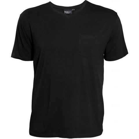 North 56°4 / Replika Jeans (Big & Tall) North 56°4 T-shirt w/pocket T-shirt 0099 Black