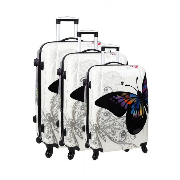 Ensemble de 3 valises en Abs-Polycarbonate 4 roues, Luggage, Yoorid, YOORID