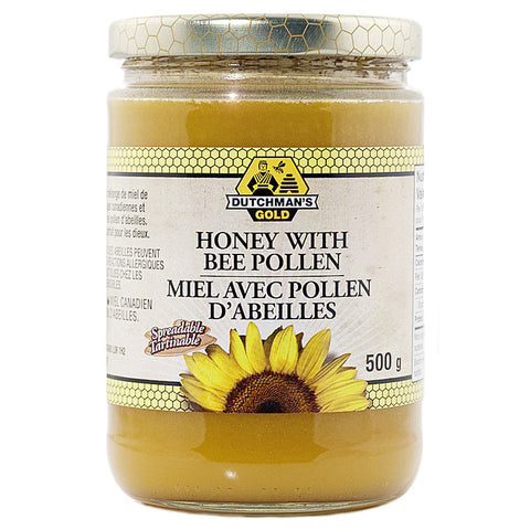 Bee Pollen in Pure Honey 500g Glass Jar